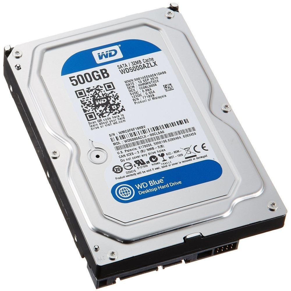 """Western Digital SATA 3.5"""" 500GB HDD"""