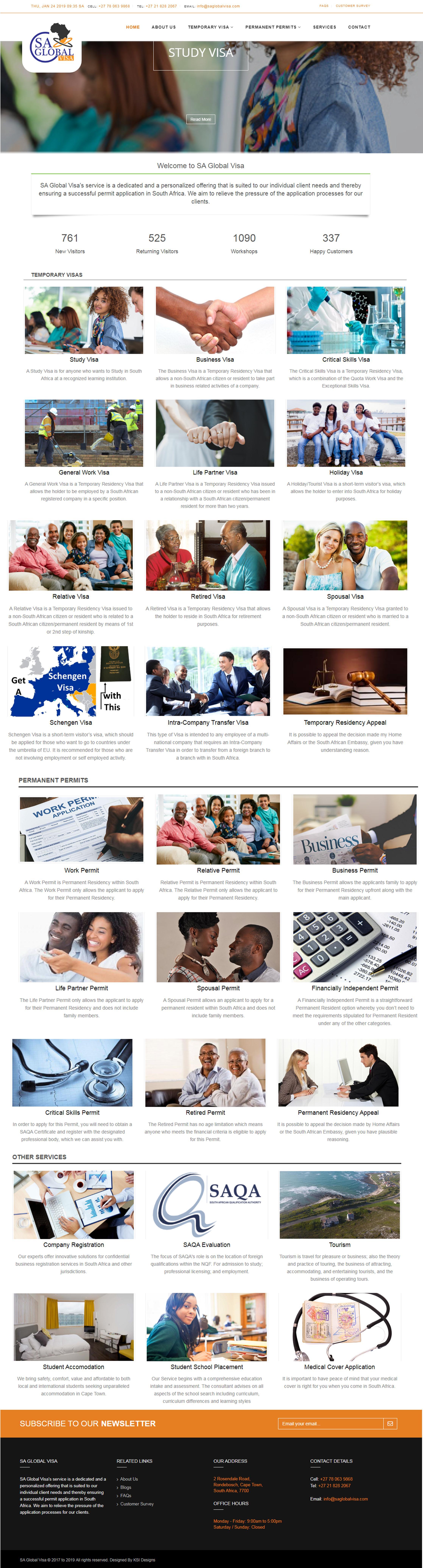SA Global Visa